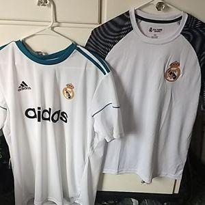 Bundle of 2 Real Madrid Shirts